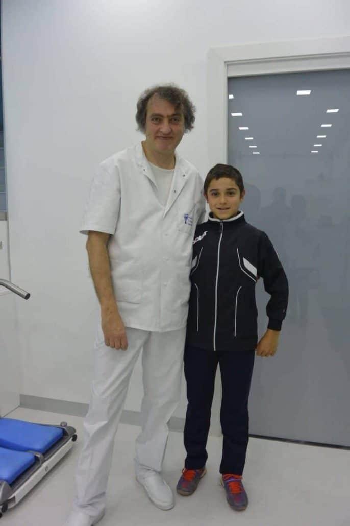 El Institut Català del Peu realiza un análisis del rendimiento deportivo al campeón de tenis Junior de España Luís Utrilla