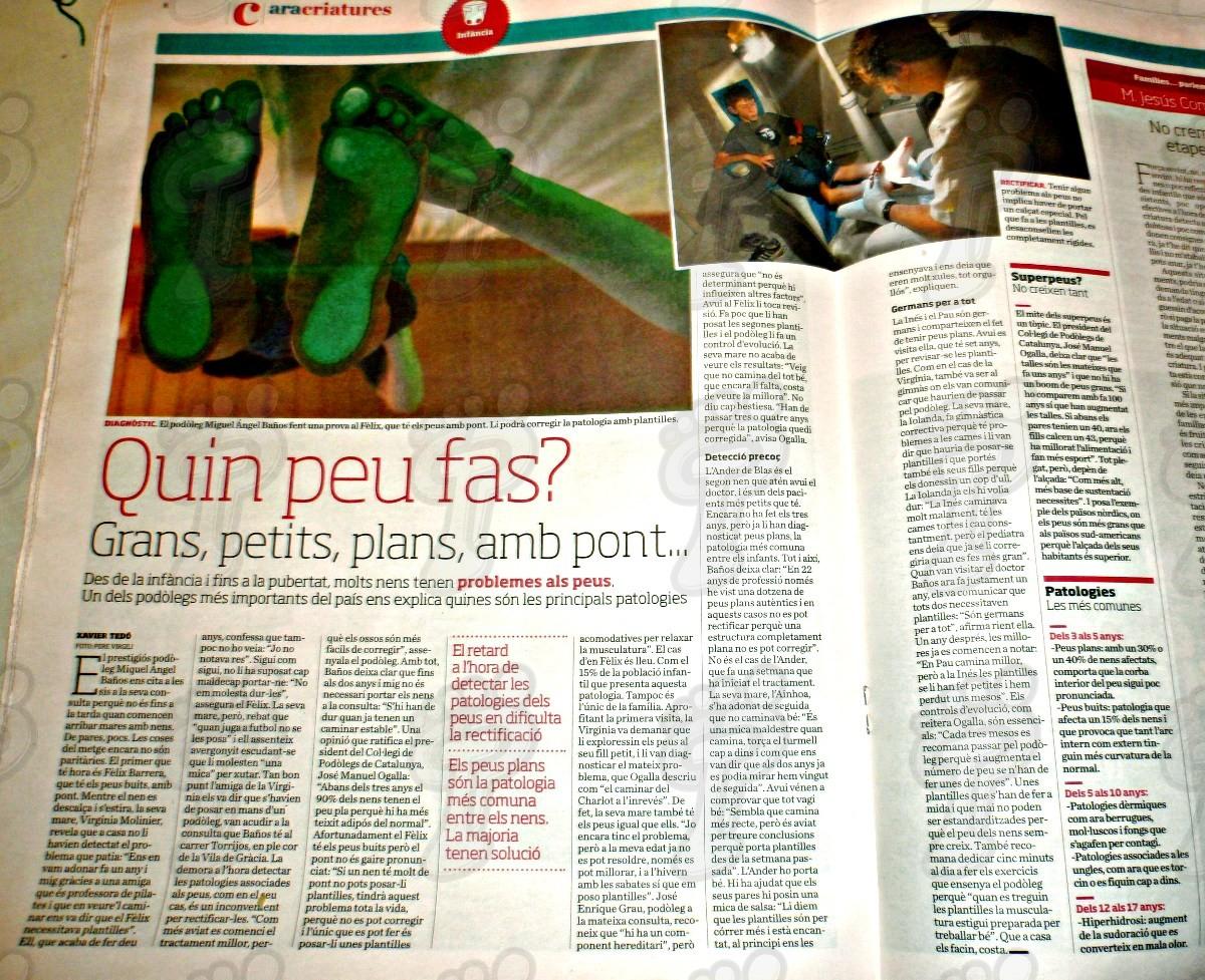 """""""Quin peu fas?"""": entrevista del diario """"Ara"""" a M. A. Baños"""