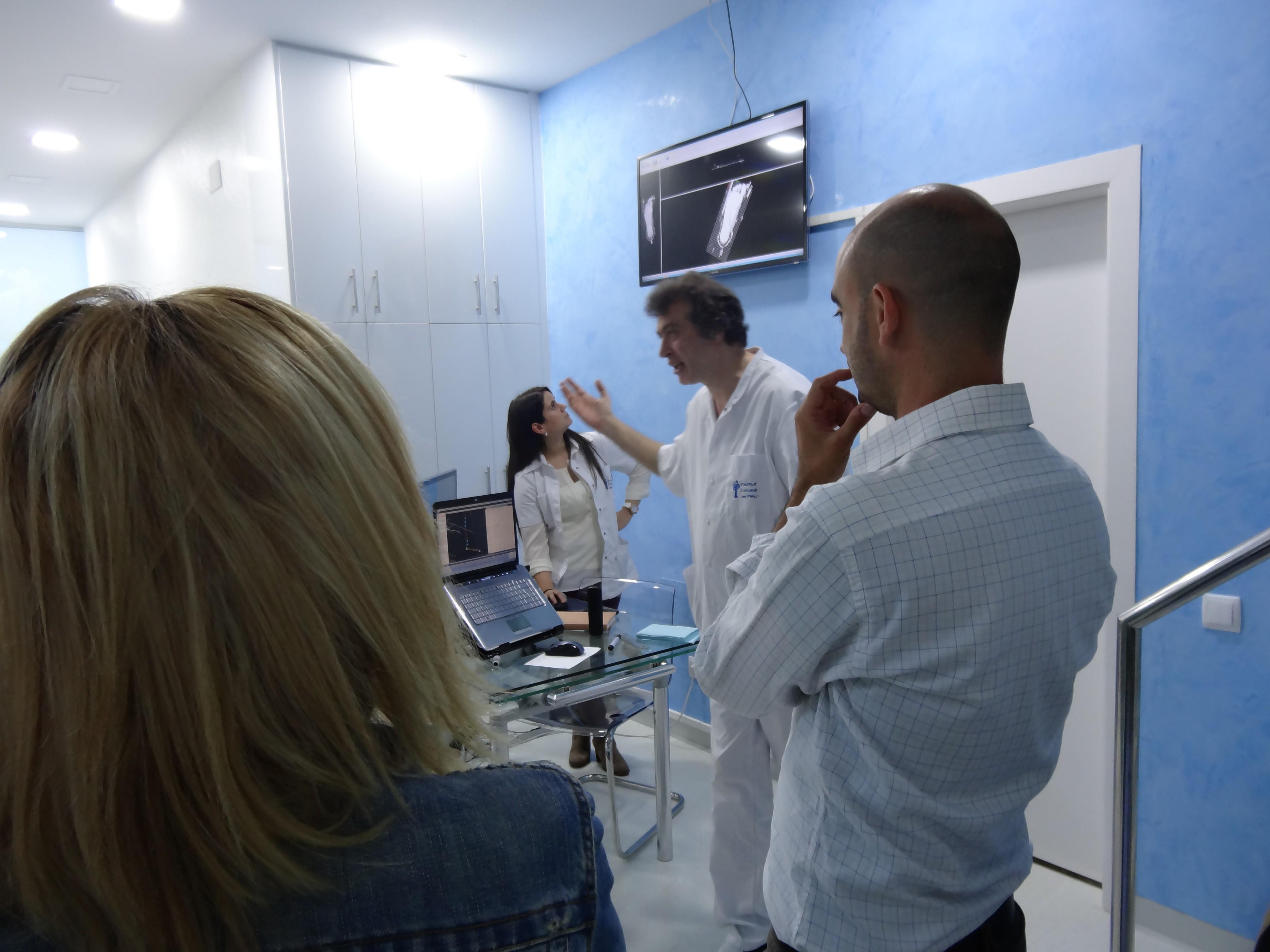 Seminario conjunto entre el Institut Català del Peu y el Ciclo Superior de ortopedia