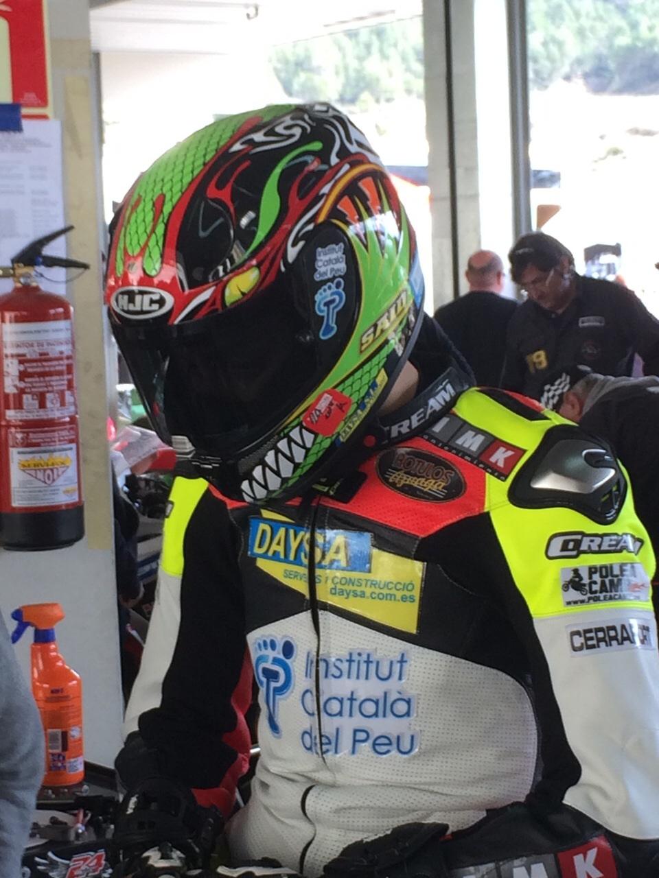 Segunda temporada del Institut Català del Peu con el motociclismo de competición