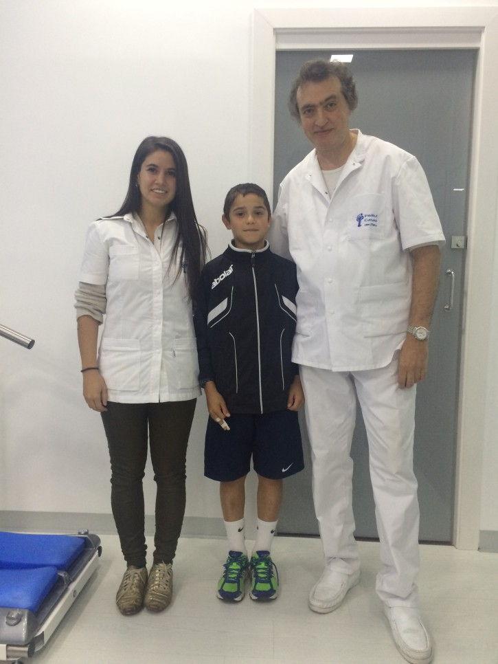 Каталонский Институт Стопы проанализировал спортивные возможности теннисиста Луиса Утрилла