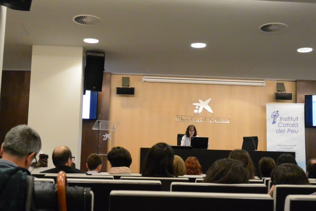"""El Institut Català del Peu realiza las """"II Jornadas sobre el diagnóstico y los tratamientos del pie en el deporte""""."""