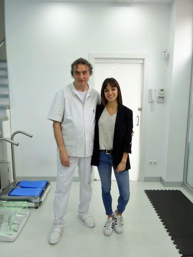 Revisión biomecánica a la atleta Ingrid Pino, heptacampeona de España en pista