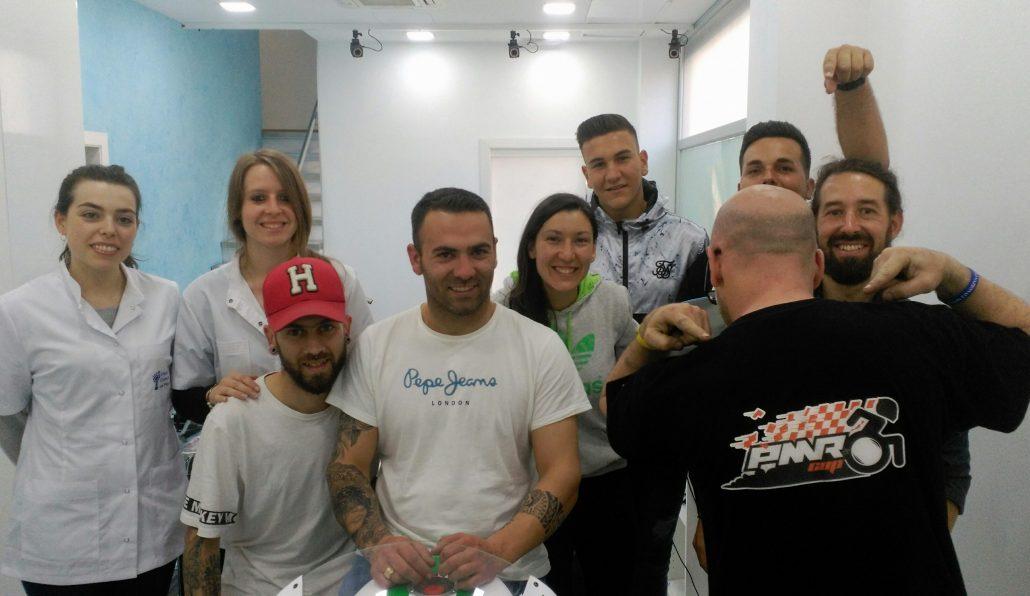 El  Institut Català del Peu participa en la investigación sobre la posturología de los pilotos de motociclismo con discapacidad