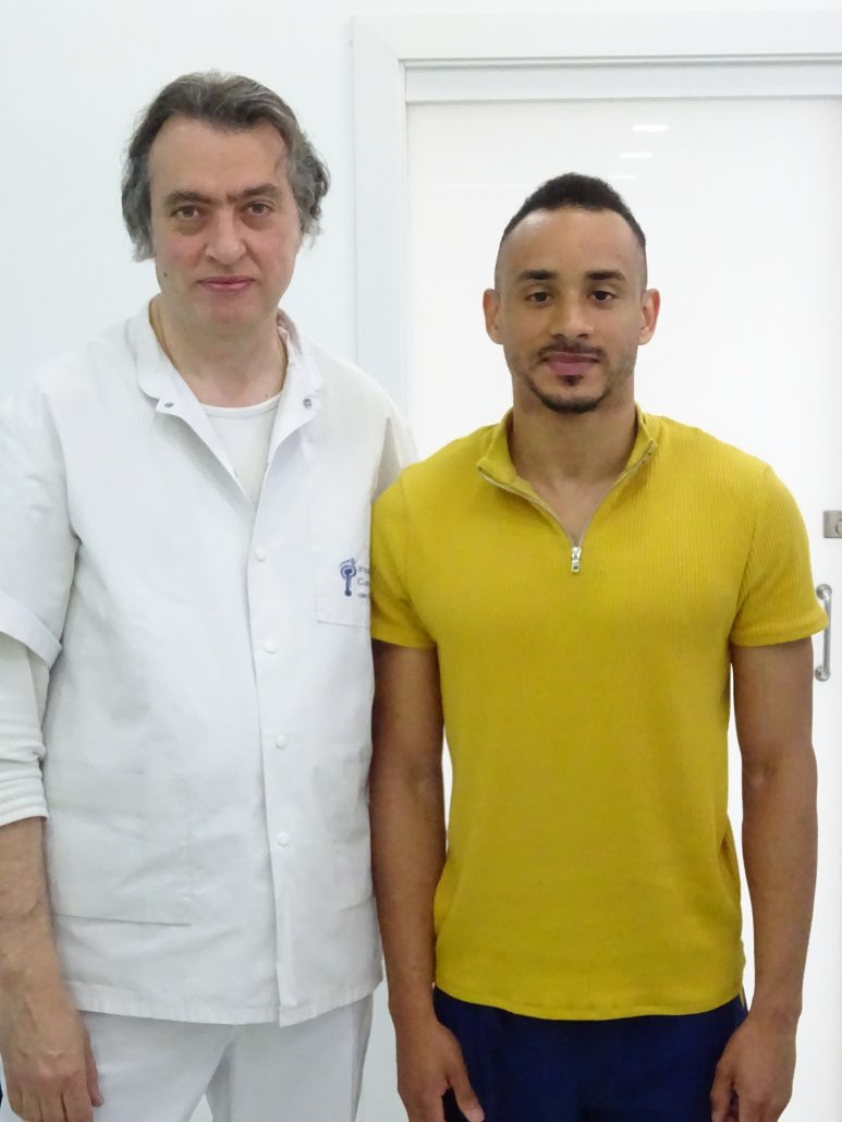 Revisión biomecánica al atleta Nelson De la Puente Fernández, velocista de 100 y 200 metros.