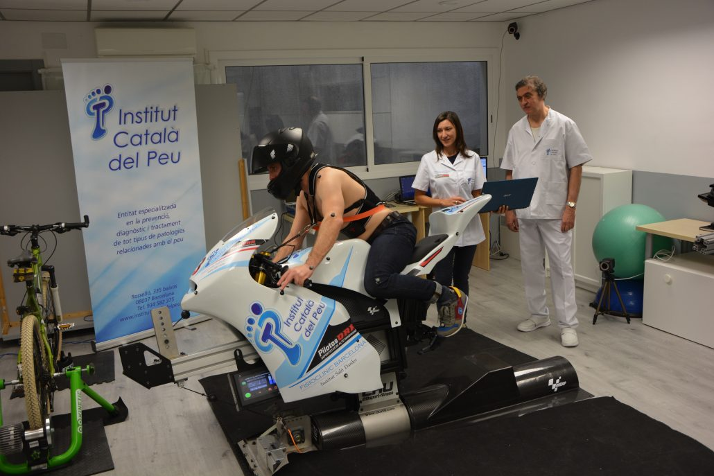 Biomechanics of motorcycling