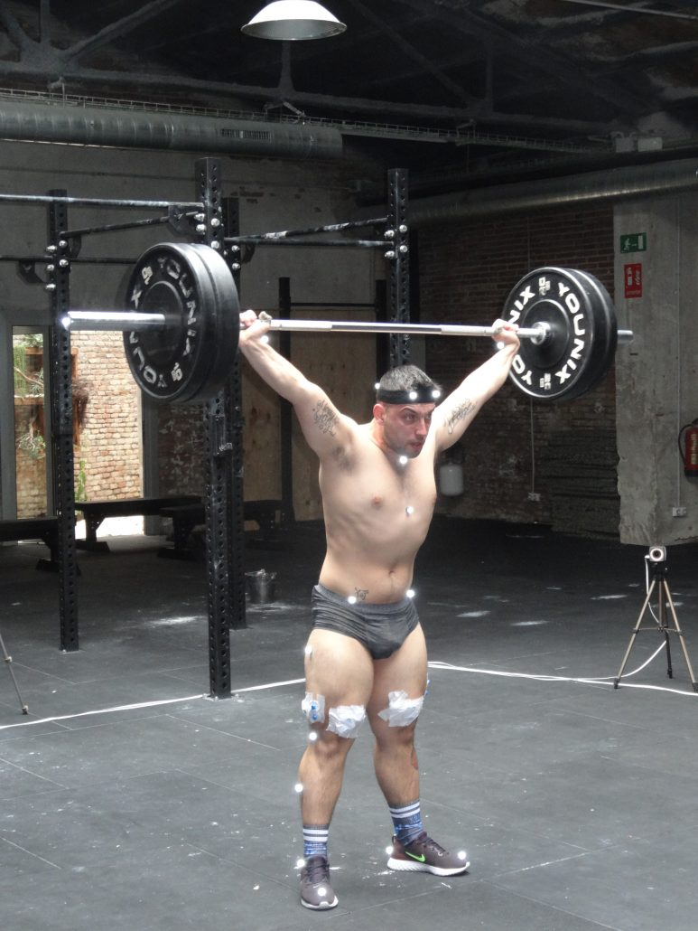 THE INSTITUT CATALÀ DEL PEU CARRIES OUT AN ANALYSIS OF THE SPORTING PERFORMANCE TO YOSUA FERNÁNDEZ, CHAMPION OF WEIGHTLIFTING IN CATALONIA.